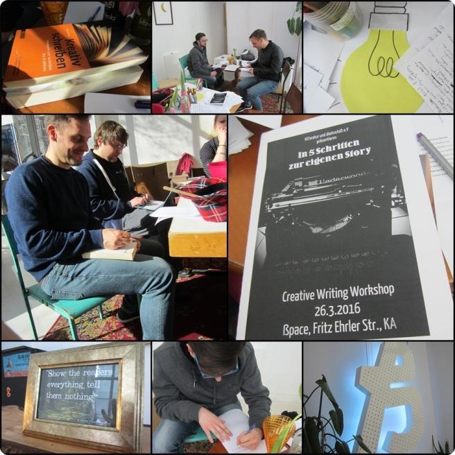 Bild Eindrücke vom Kiteratur-Workshop im ßpace