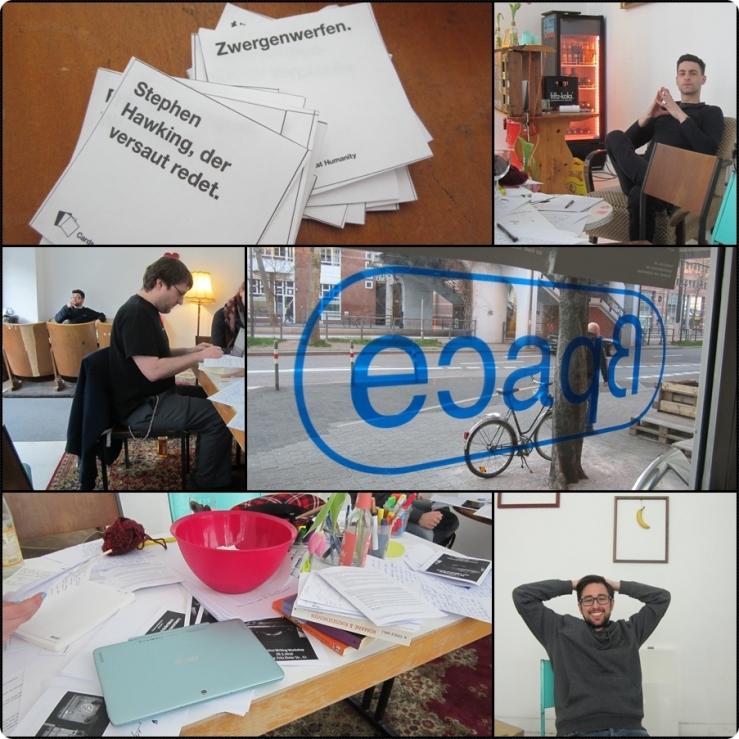 Bild Eindrücke vom Kiteratur-Workshop im ßpace 02