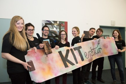Bild Hochschulgruppe kiteratur für clickit foto: patrick langer/kit 01
