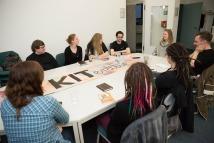 Bild Hochschulgruppe kiteratur für clickit foto: patrick langer/kit 05