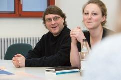 Bild Hochschulgruppe kiteratur für clickit foto: patrick langer/kit 08