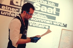 KITeratur im Badischen Landesmuseum_Lesenacht_Sebastian Kopf 24