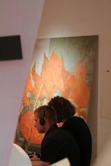 KITeratur im Badischen Landesmuseum_Lesenacht_Sebastian Kopf 27