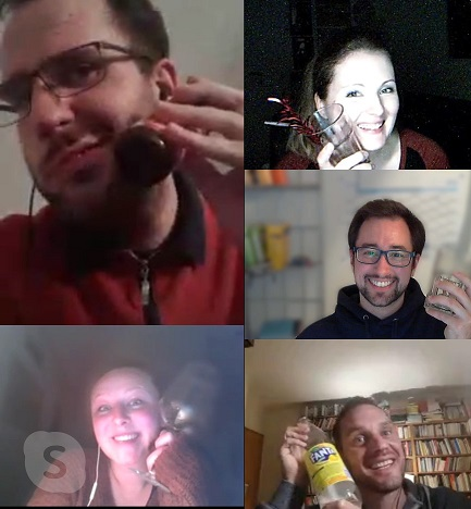 Skype Kiteratur virtueller Schreibtreff Happy Hour