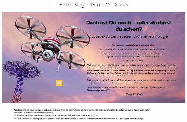 Bild Drohnen-Pseudo-Werbung von Frank Winkler