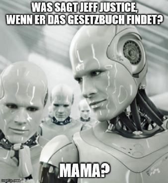 jeff justice Meme von Julius Link